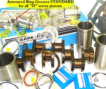CASE - I.H. Engine Kits and Parts - Bare Co USA